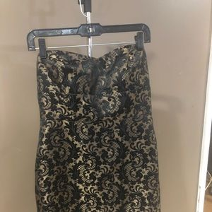 Ann Taylor LOFT brocade dress 6 petite